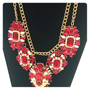 Rhinestone Necklace.